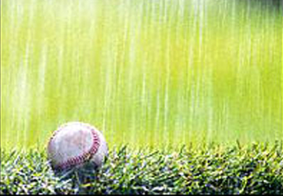 The End of Baseball Rain
