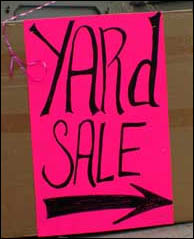 Yard Sale Fever